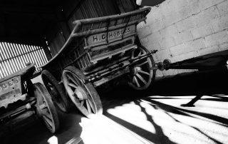 Old cart in Warwickshire, England