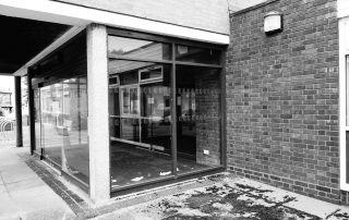Old studio reception in Warwickshire, England