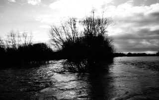 Overflowing stream