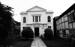 Simple church in Warwickshire, England