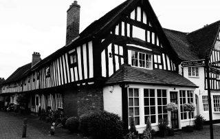 Tudor house in Warwickshire, England