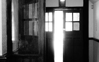 Fuzzy doors in Worcestershire, England