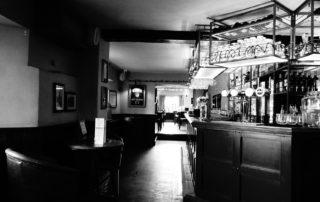 Empty bar in England