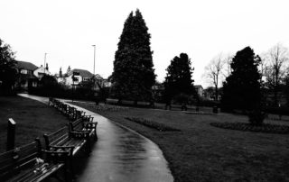 Park Benches in Sheffield, England