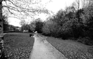 Wet Park Path in Sheffield, England