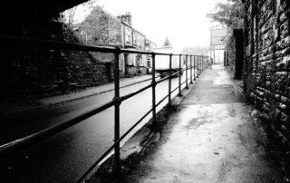 Bridge Path in Derbyshire, England