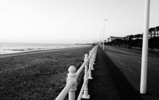 Long Sea Walk in Yorkshire, England