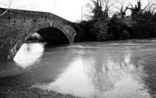 Lucky Bridge in Warwickshire, England