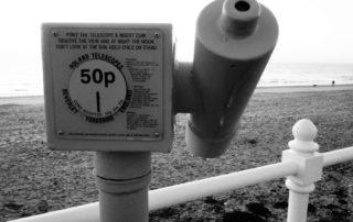Sea Telescope in Yorkshire, England