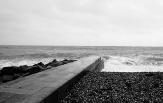 Sea Walkway in Dorset, England