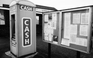 Tall Cash Machine in Lincolnshire, England