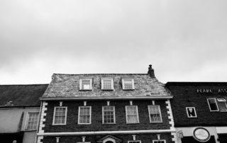 A Georgian building in Devon, England