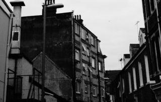 Some dark apartments in Devon, England