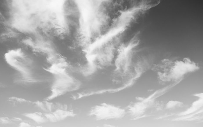 Afternoon cirrus on a breezy day
