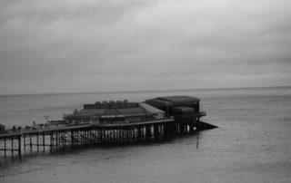 A quiet pier in Norfolk, England
